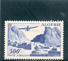 ALGERIE 1949-53 * - Airmail