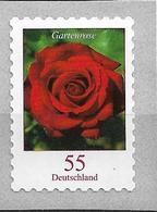 2008 Allm. Fed. Deutschland  Mi.2675 R **MNH Nr. 235  Blumen: Gartenrose (Rosa Remontana) - [7] Federal Republic