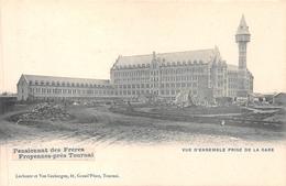Pensionnat Des Frères - Froyennes - Vue D'ensemble Prise De La Gare - Tournai