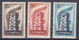 Luxembourg 1956 Europa CEPT Mi#555-557 Mint Never Hinged, Cat Value 300 Eur - Luxembourg