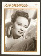 PORTRAIT DE STAR 1953 GRANDE BRETAGNE - ACTRICE JOAN GREENWOOD - ENGLAND ACTRESS CINEMA FILM PHOTO - Fotos