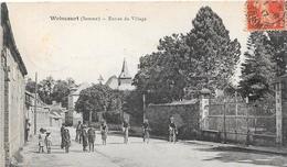 80 WOINCOURT - Entrée Du Village - Animée - Other Municipalities