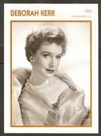 PORTRAIT DE STAR 1955 GRANDE BRETAGNE - ACTRICE DEBORAH KERR - ENGLAND ACTRESS CINEMA FILM PHOTO - Fotos