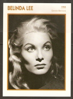 PORTRAIT DE STAR 1955 GRANDE BRETAGNE - ACTRICE BELINDA LEE - ENGLAND ACTRESS CINEMA FILM PHOTO - Fotos
