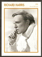 PORTRAIT DE STAR 1955 GRANDE BRETAGNE - ACTEUR RICHARD HARRIS - ENGLAND ACTOR CINEMA FILM PHOTO - Fotos