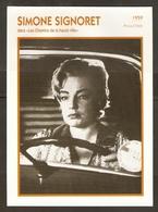 PORTRAIT DE STAR 1959 GRANDE BRETAGNE - ACTRICE SIMONE SIGNORET - ENGLAND ACTRESS CINEMA FILM PHOTO - Fotos