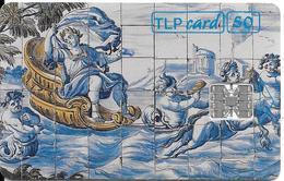 -CARTE-PUCE-50 U-SC7-04/94-LISBOA -MUSEE NATIONAL-FAIENCE-V° N° Rge C42143976-UTILISE-TBE-TBE - Portogallo
