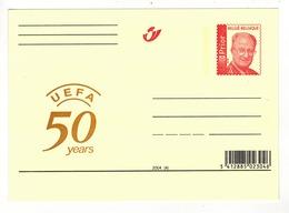 2004 - 50 YEARS U.E.F.A. - Herdenkingskaarten