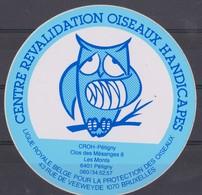 Autocollant, Centre Révalidation Oiseaux Handicapés, Pétigny.. - Stickers