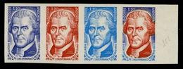 Andorre N° 255 Bicentenaire De L'indépendance Des Etats Unis : Bande De 4 Essais De Couleurs - Autres