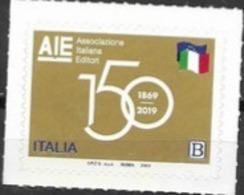 ITALY, 2019, MNH, AIE, ITALIAN EDITORS' ASSOCIATION, 1v - Stamps