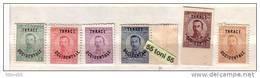 1920 THRACE/INTERALLIEE (THRAKIEN)  6v.-MNH  BULGARIA / Bulgarie - 1909-45 Royaume