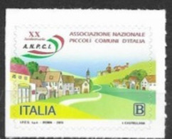 ITALY, 2019, MNH, NATIONAL ASSOCIATION OF SMALL COMMUNITIES, VILLAGES,  1v - Stamps