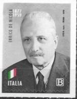 ITALY, 2019, MNH, ENRICO DE NICOLA, FIRST  PRESIDENT OF ITALY , POLITICIANS,1v - Otros