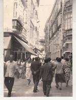 Malaga - Rue - Très Animé - à Situer - Photo 7 X 10 Cm - Places