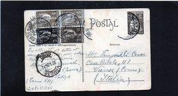 CG6 - Portogallo  - Cartolina Postale - Beira 1926 Per Varese - Postwaardestukken