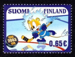 FINLANDE 2003 - Yvert N° 1611 - Facit 1648 - NEUF** MNH - Championnat Du Monde De Hockey Sur Glace - Finlande