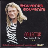 CD - Johnny HALLYDAY - Souvenirs Souvenirs - Collector 6 Titres - Hors Commerce - 6466 - Musique & Instruments