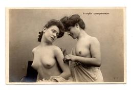 Nu Filles Seins Nus La Comparaison Erotisme Charme - Nus Adultes (< 1960)
