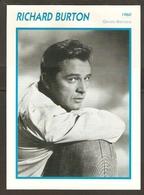 PORTRAIT DE STAR 1960 GRANDE BRETAGNE - ACTEUR RICHARD BURTON - ENGLAND ACTOR CINEMA FILM PHOTO - Fotos
