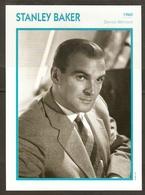 PORTRAIT DE STAR 1960 GRANDE BRETAGNE - ACTEUR STANLEY BAKER - ENGLAND ACTOR CINEMA FILM PHOTO - Fotos