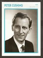 PORTRAIT DE STAR 1960 GRANDE BRETAGNE - ACTEUR PETER CUSHING - ENGLAND ACTOR CINEMA FILM PHOTO - Fotos