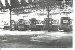 """Photo D'archive BEZONS - BERLIET """" PCMR """"  (CAR / BUS ) Garage RATP - Bezons"""