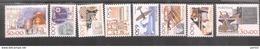 1472 - 1479 Arbeitsmittel ** MNH Postfrisch - Neufs