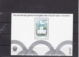 Israel 1984 Mi Block 26 Yv 27 Olympics Los Angeles MNH** - Hojas Y Bloques