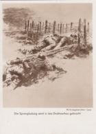 AK - WK II - Sprengladung Wird Ins Drahtverhau Gebracht - Weltkrieg 1939-45