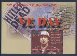 Tuvalu 2005 Mi 1232 = B127 SG 1169 ** George S. Patton (1885-1945), Amerikanischer General / 60 Th Ann.Victory In Europe - Seconda Guerra Mondiale