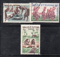 APR2271 - WALLIS FUTUNA 1960 ,  Serie Mestieri Usato (2380A) - Used Stamps