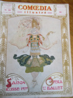 COMOEDIA ILLUSTRE SAISON RUSSE 1909 N°10 DU 15 MAI 1909 - Journaux - Quotidiens