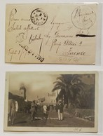 Cartolina Illustrata Tripoli-Firenze - 08/01/1911 - 1900-44 Vittorio Emanuele III