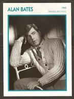 PORTRAIT DE STAR 1965 GRANDE BRETAGNE - ACTEUR ALAN BATES - ENGLAND ACTOR CINEMA FILM PHOTO - Fotos