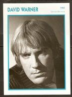 PORTRAIT DE STAR 1965 GRANDE BRETAGNE - ACTEUR DAVID WARNER - ENGLAND ACTOR CINEMA FILM PHOTO - Fotos