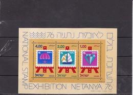 Israel 1976 Mi Block 15 Yv 15  MNH** - Hojas Y Bloques
