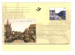 2001 - Gent - Gand - Graslei. - Herdenkingskaarten