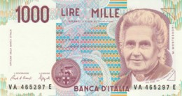 BANCONOTA  ITALIA 1000 LIRE VERDI - UNC (BN15 - [ 2] 1946-… : République