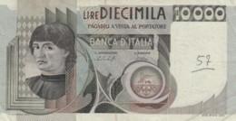 BANCONOTA  ITALIA 10000 LIRE -  VF (BN17 - [ 2] 1946-… : Républic