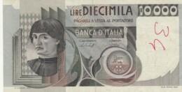 BANCONOTA  ITALIA 10000 LIRE -  VF (BN19 - [ 2] 1946-… : République