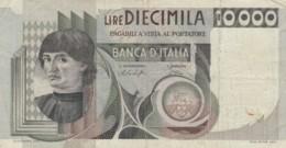 BANCONOTA  ITALIA 10000 LIRE -  EF (BN23 - [ 2] 1946-… : République