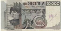 BANCONOTA  ITALIA 10000 LIRE -  VF (BN25 - [ 2] 1946-… : République