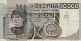 BANCONOTA  ITALIA 10000 LIRE -  VF (BN27 - [ 2] 1946-… : République