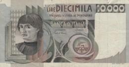 BANCONOTA  ITALIA 10000 LIRE -  VF (BN28 - [ 2] 1946-… : Républic