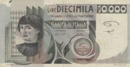 BANCONOTA  ITALIA 10000 LIRE -  VF (BN29 - [ 2] 1946-… : République