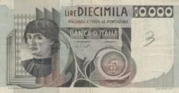 BANCONOTA  ITALIA 10000 LIRE -  VF (BN30 - [ 2] 1946-… : République