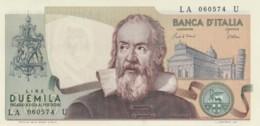 BANCONOTA  ITALIA 2000 LIRE GALILEO -  UNC (BN39 - [ 2] 1946-… : Repubblica