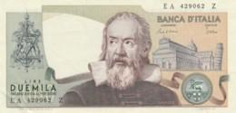 BANCONOTA  ITALIA 2000 LIRE GALILEO -  AUNC (BN40 - [ 2] 1946-… : Repubblica