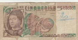 BANCONOTA  ITALIA 5000 LIRE - VF (BN41 - [ 2] 1946-… : Repubblica